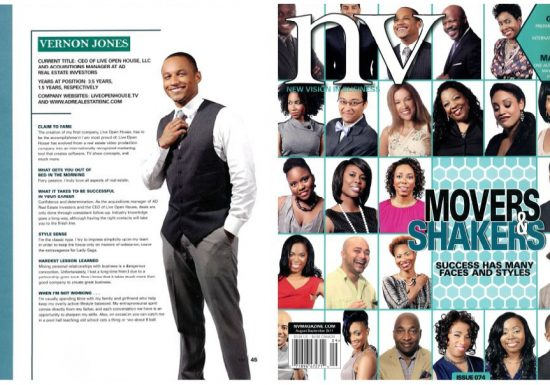 NV Magazine Top Movers and Shakers