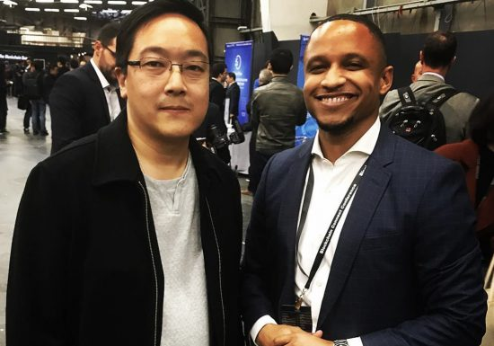 Vernon Jay with Charlie Lee, Founder at Litecoin